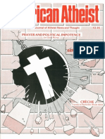 American Atheist Magazine June 1984