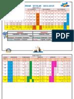 Calendar Scolar 2014