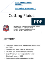 Topic Cutting Fluid