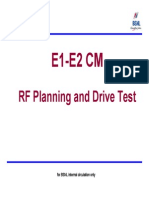 RF Planning and Drive Test