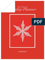 019 Holiday Planner High