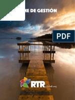 Informe de Gestión RTR 2014