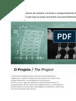 La Idea Inicial Surgió Durante La Primavera de Postgrado en Arquitectura