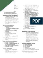 1 Differential Diagnoses Handout