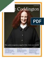 grace coddington  irina