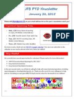 JFB PTO Newsletter 1-28-15