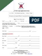 2015 Feb Camp Registration