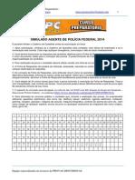 Simulado Concurso Pf 2014