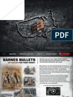 Barnes Bullets Catalog 2015