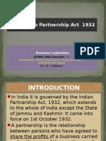 The Indian Partnership Act 1932