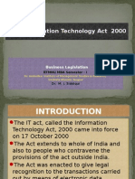 The Information Technology Act 2000