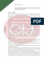 Informe del juzgado a cargo de Fabiana Palmaghini al 27 de enero de 2015