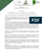 Acta Constitutiva de Ligas Deportivas(1)