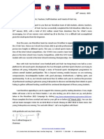 2015 Marathon 3rd Appeal Letter