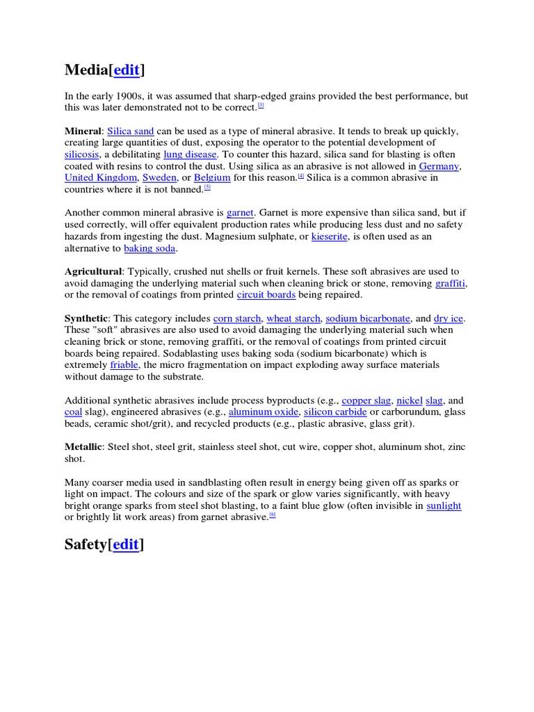 Blasting Media | Química (8 views)