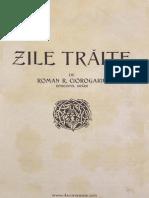 Roman Ciorogaru..Zile Traite