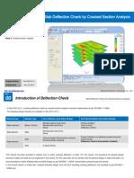 Cracked Section Analysis MIDAS GEN