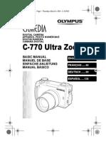Olympus Camedia c 770 Ultra Zoom