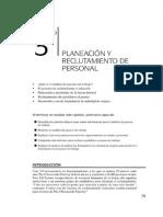 Capitulo 2  Planeacion y Reclutamiento de Personal