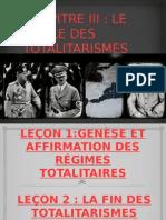 Le Siecle Des Totalitarismes