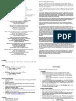 Parent Preschool Handbook 2010-11