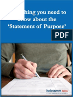 Everything You Need to Know About the Statement of Purpose