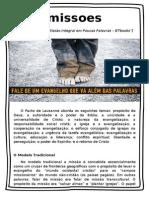 [SemParedes] Estudo 24-10-15 - Missão Integral e Lausanne