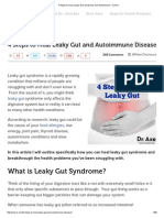 4 Steps to Heal Leaky Gut Syndrome and Autoimmune - DrAxe