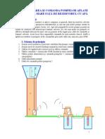 Automatizarea Si Comanda Pompelor Aflate La Distanta Mare Fata de Rezervorul Cu Apa