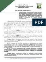 Projeto de Lei 2015