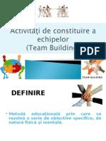 Curs 6-Team Building