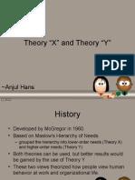 Anjul Hans TheoryX TheoryY
