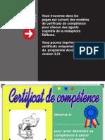 certificats
