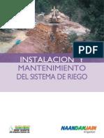 Instalación y Mantenimiento Sistemas de Riego