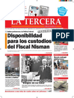 Diario La Tercera 28.01.2015