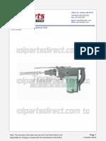 Hitachi Dh40ma  Drill