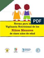 Normas vigilancia nutricional