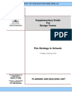 Fire Strategy for Schools a Supplementary Guide for Design Teams