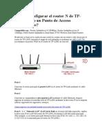 tplink configurar router