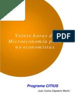 Veinte Horas de Microeconomía Para No Economistas