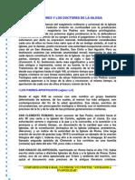Los Padres y Los Doctores de La Iglesia PDF Gtsgdnmmesd