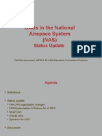 UASs in the National Airspace System (NAS)