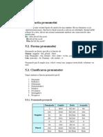 pronumele - gramatica engleza