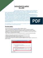 Instructiuni de update E- boda Revo-R80
