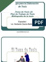 Metodologia para la Elaboracion de tesis