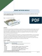 CISCO GIGABIT ETHERNET NETWORK MODULE