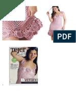 Tejidos de Vestidos a Crochet 2015
