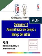 2015 - 01.Administración Del Tiempo y Manejo Del Stress