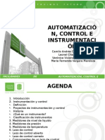 Exposicion Facilidades, Instrumentacion, Automatizacion y Control.