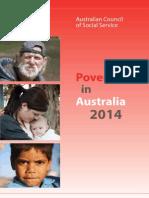 ACOSS Poverty in Australia 2014